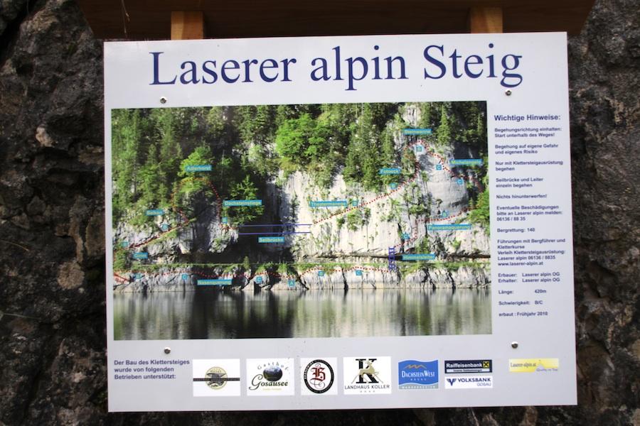 Klettersteig Gosausee : Neu klettersteig am gosausee heli grünauer skilehrerin in