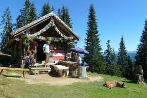 gerzkopf sch ferh tte pirnitzalm heli gr nauer skilehrerin in ru bach skiregion. Black Bedroom Furniture Sets. Home Design Ideas