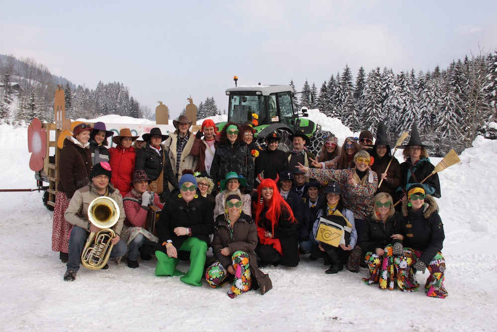 Fasching in Russbach
