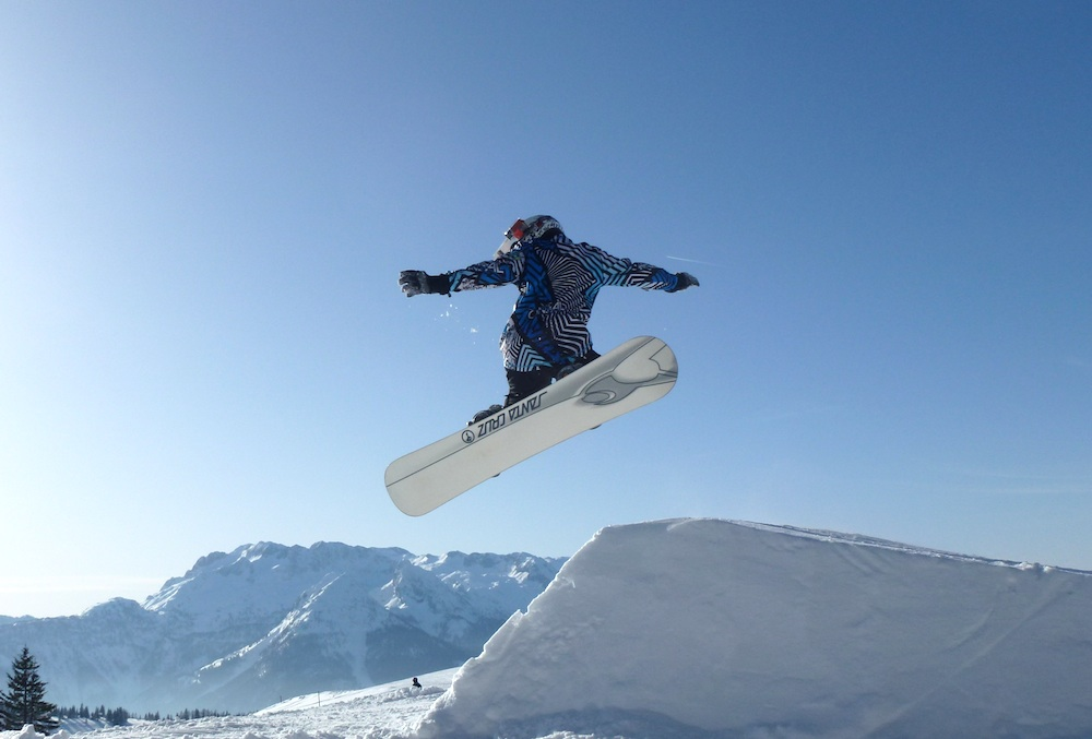 Skiregion Dachstein West - Snowboard Jump