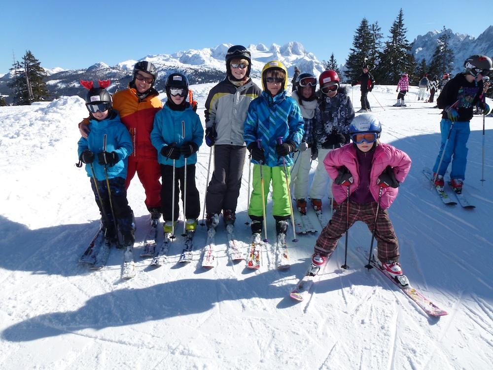 Kinderskikurs Skiwoche