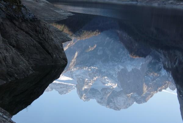 gespiegelter Dachstein