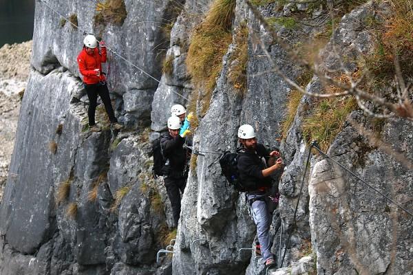 Klettersteig am Gosausee