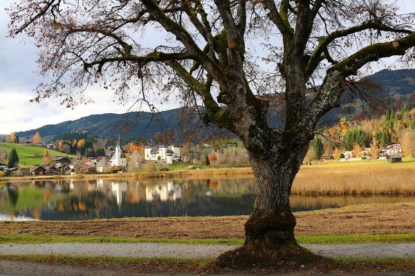 Goldegg ein idyllisches Dorf
