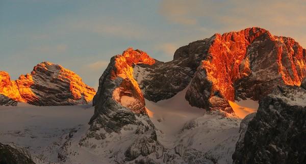 Dachstein  - Abendsonne