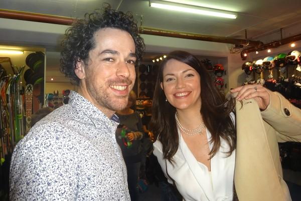 Stefan mit seiner Frau