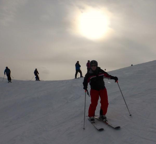 Skifahren am Obertauern