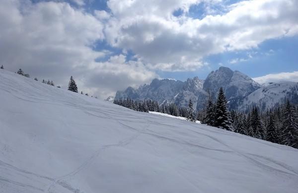 Frühlingsskilauf