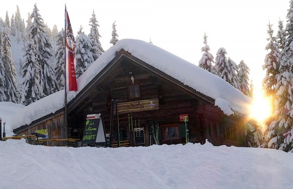 Hornhütte Schifahrer Advent