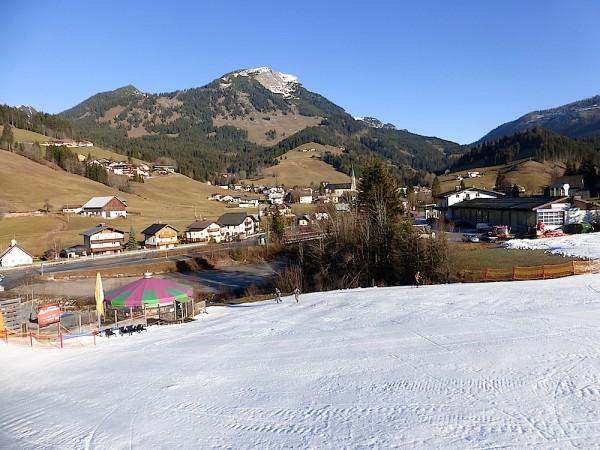 Schneelage Dachstein West