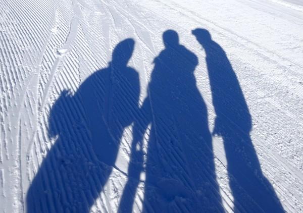Gaudi im Schnee