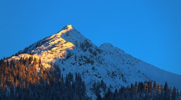 Russbach Berge Balkonblick