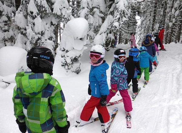 Skifahren lernen Russbach