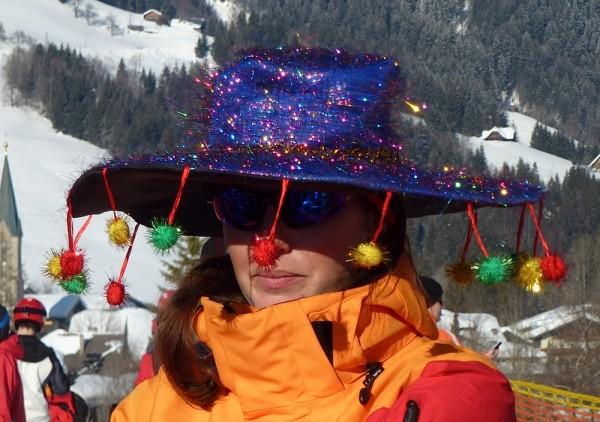 Fasching Russbach Skilehrer