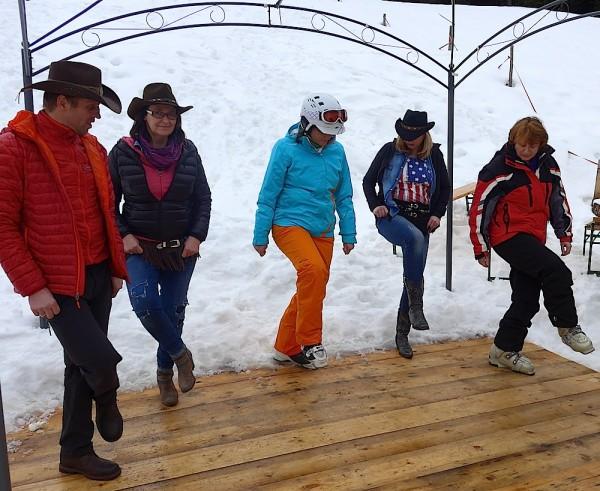 Line Dance auf der Hornhütte
