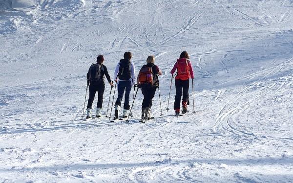 Skitourengehen auf den Hornspitz