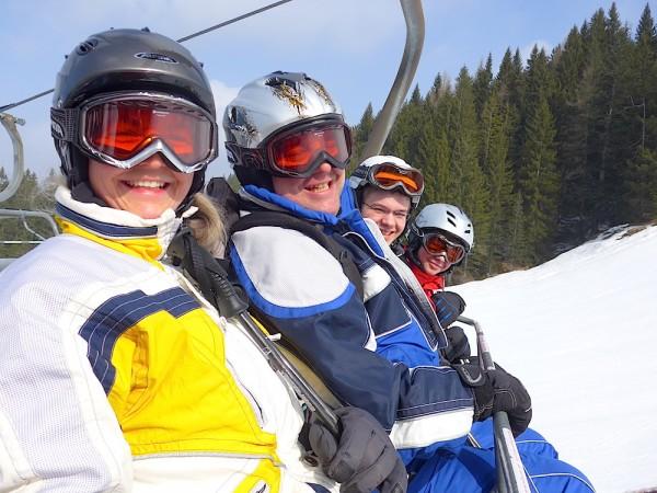 Familien Skikurs