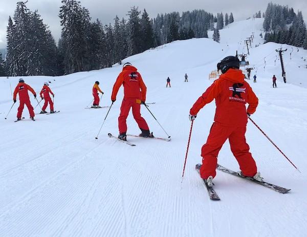 Skilehrer Training Russbach