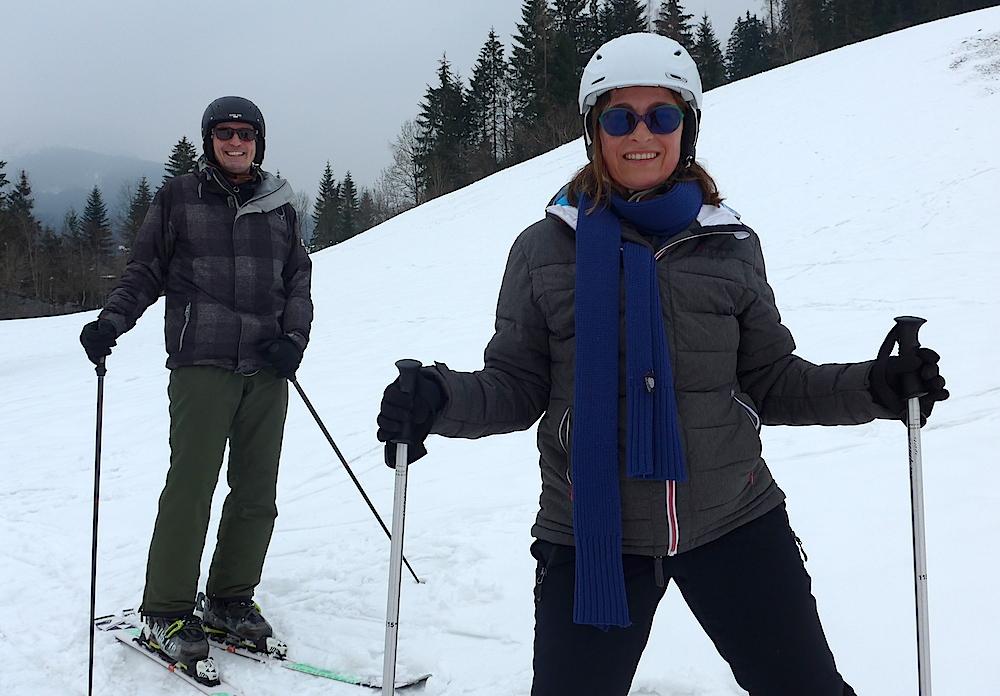 Skifahren Schnee Und Hüttengaudi Lustig War Die Karwoche Auf