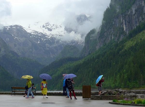 Regenwetter - Dachstein West