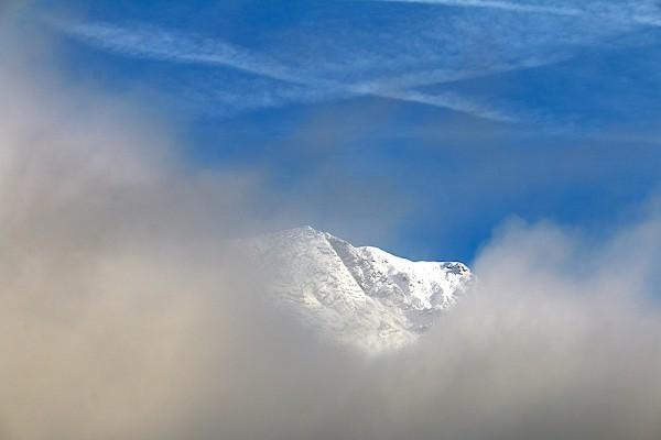 Russbach - erster Schnee