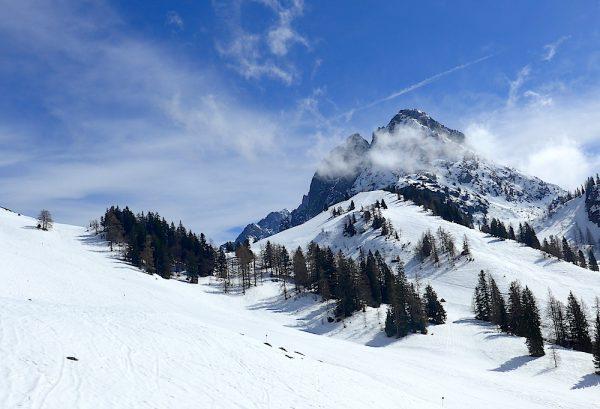 Frühjahrs Skilauf